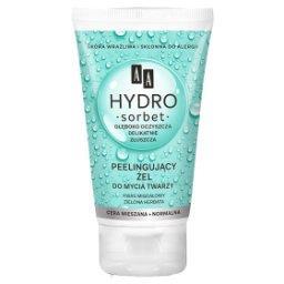 Hydro Sorbet peelingujący żel do mycia twarzy cera n...