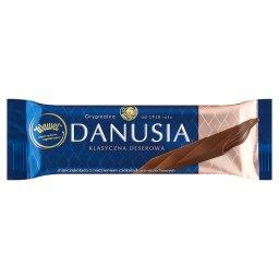 Danusia Klasyczna deserowa czekoladka z nadzieniem czekoladowo-orzechowym