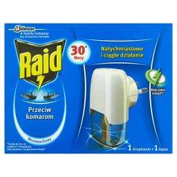 Przeciw komarom Elektrofumigator z płynem owadobójczym Urządzenie i zapas