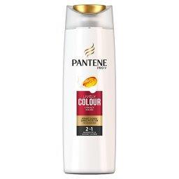 Pro-V Lśniący Kolor 2w1 Szampon zodżywką do włosów farbowanych 400ml