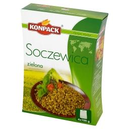 Soczewica zielona 400 g (4 torebki)