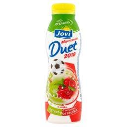 Mistrzowski Duet 2018 Napój jogurtowy o smaku agrest-czerwona porzeczka