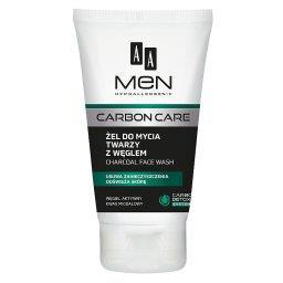 Men Carbon Care Żel do mycia twarzy z węglem 150 ml