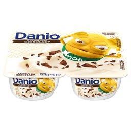 Danio Extra Serek homogenizowany z czekoladą 520 g (4 sztuki)