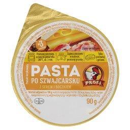 Pasta po szwajcarsku z serem i boczkiem