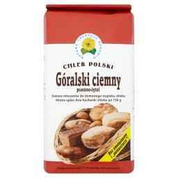 Góralski ciemny pszenno-żytni Gotowa mieszanka do domowego wypieku chleba 1 kg