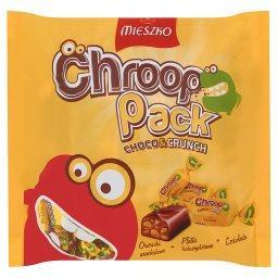Chroop Pack Cukierki z orzeszkami arachidowymi i chrupkami czekoladowymi w czekoladzie