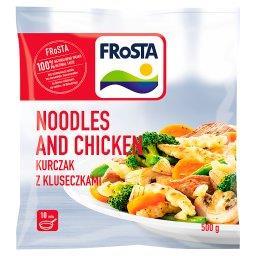 Noodles and Chicken Kluseczki z pszenicy durum