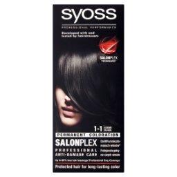 SalonPlex Farba do włosów czerń 1-1