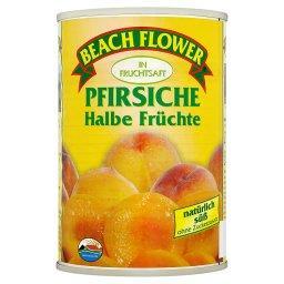 Brzoskwinie połówki w soku owocowym