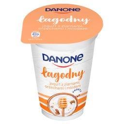 Łagodny Jogurt z ziarnami orzechami i miodem