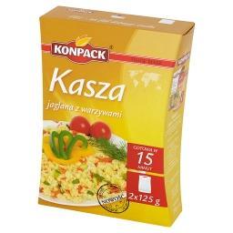 Kasza jaglana z warzywami 250 g (2 torebki)