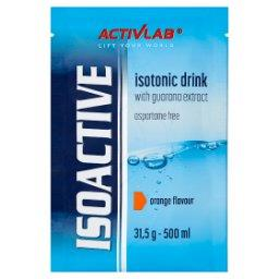 Isoactive Napój izotoniczny instant z dodatkiem guarany o smaku pomarańczowym
