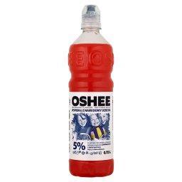 Napój izotoniczny niegazowany o smaku czerwonej pomarańczy 0,75 l
