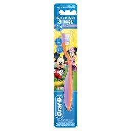 Stages Kids Manualna szczoteczka do zębów z Myszkami...