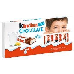 Chocolate Batoniki z mlecznej czekolady z nadzieniem...
