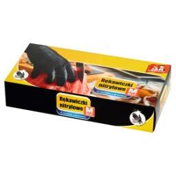 Rękawiczki nitrylowe M 50 sztuk