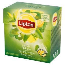 O smaku Cytryna i melisa Herbata zielona aromatyzowa...