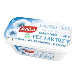 Lody waniliowe bez laktozy 1l