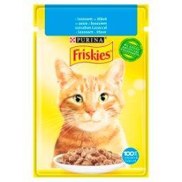Karma dla kotów w sosie z łososiem