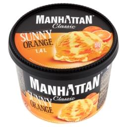 Classic Lody z serkiem twarogowym i lody pomarańczow...