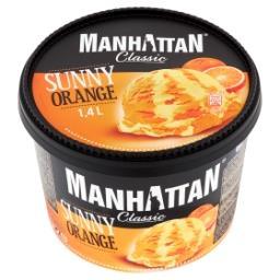 Lody z serkiem twarogowym i lody pomarańczowe