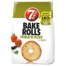 Bake Rolls Chrupki chlebowe o smaku pomidora oliwki i oregano