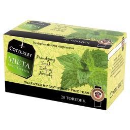 Mięta Herbatka ziołowa ekspresowa 20 torebek