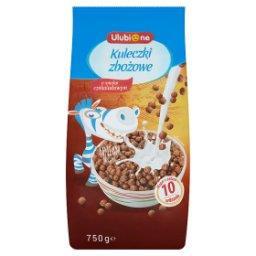 Kuleczki zbożowe o smaku czekoladowym