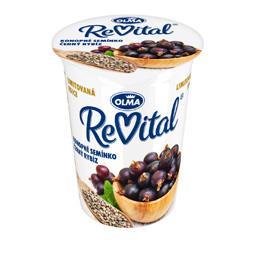 Revitaj jogurt czarna porzeczka z nasionami konopi 145g