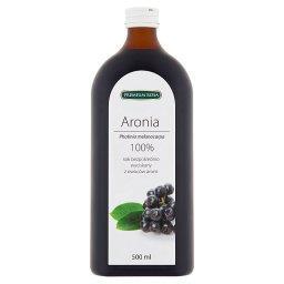 Sok bezpośrednio wyciskany z owoców aronii