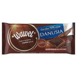 Czekolada gorzka 70% Cocoa z nadzieniem czekoladki Danusia