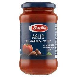 Aglio Sos pomidorowy z czosnkiem czerwonym winem i ziołami