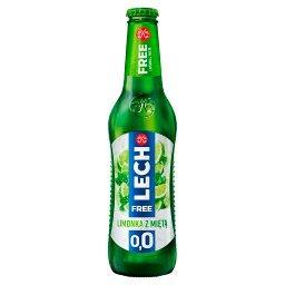 Free Piwo bezalkoholowe limonka z miętą