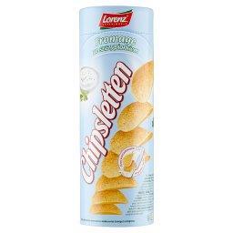 Chipsy ziemniaczane fromage ze szczypiorkiem