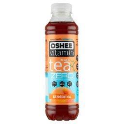 Vitamin Black Tea Zero Niegazowany napój herbaciany o smaku brzoskwiniowym