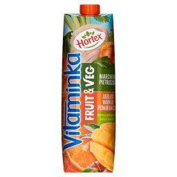 Vitaminka Fruit & Veg Sok marchew pietruszka jabłko mango pomarańcza