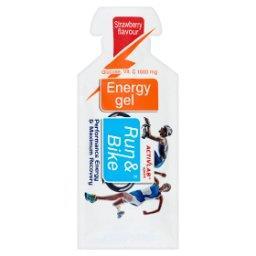 R&B Energy Gel Żel energetyczny z witaminą C o smaku truskawkowym