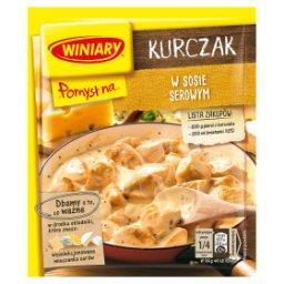 Pomysł na... Kurczaka w sosie serowym