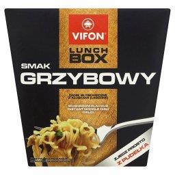 Lunch Box smak grzybowy Danie błyskawiczne z kluskami łagodne