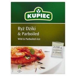 Ryż dziki i parboiled 200 g (2 torebki)
