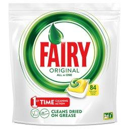 Fairy Original All In One Lemon Tabletki do zmywarki 84 sztuki