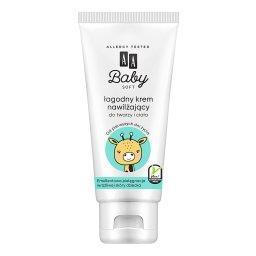 Baby Soft Łagodny krem nawilżający do twarzy i ciała75 ml