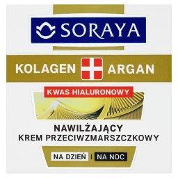 Kolagen + Argan Nawilżający krem przeciwzmarszczkowy na dzień i na noc