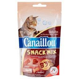 Snack'Mix Przekąski dla kota z wołowiną kurczakiem i łososiem