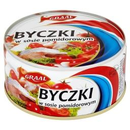 Byczki w sosie pomidorowym