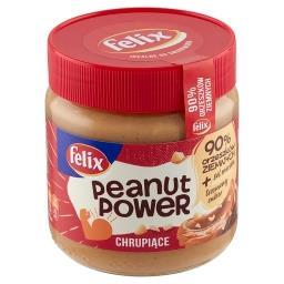Peanut Power Chrupiące Krem orzechowy
