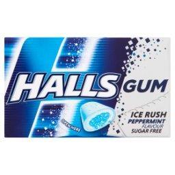 Gum Ice Rush Bezcukrowa guma do żucia o smaku miętow...