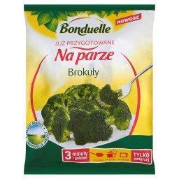Już przygotowane na parze Brokuły