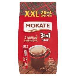 Caffetteria 3in1 Classic Rozpuszczalny napój kawowy w proszku 408 g